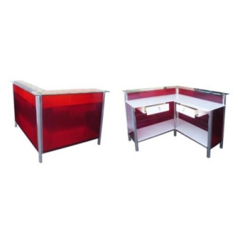 Balcão caixa l policarbonato MC-1560