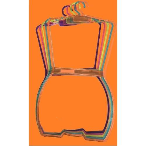 Cabide colant acrílico colorido MC-1116
