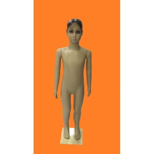 Manequim Infantil plastico Feminino MC-1684